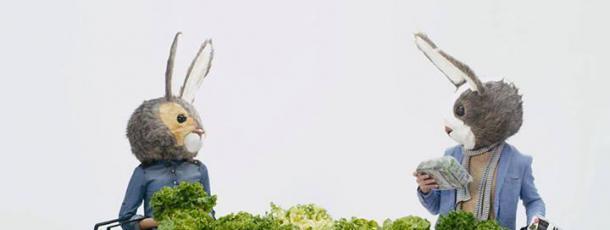 Auchan : Les lapins débarquent au rayon salades [Vidéo Sponsorisée]