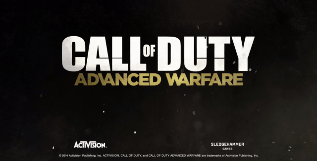 Call of Duty : Advanced Warfare le trailer et des infos !