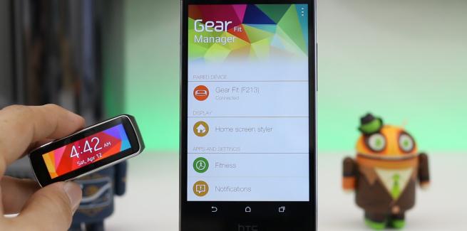 Tuto : Comment utiliser la Samsung Gear Fit sur Nexus 5, HTC One et autres smartphones Android
