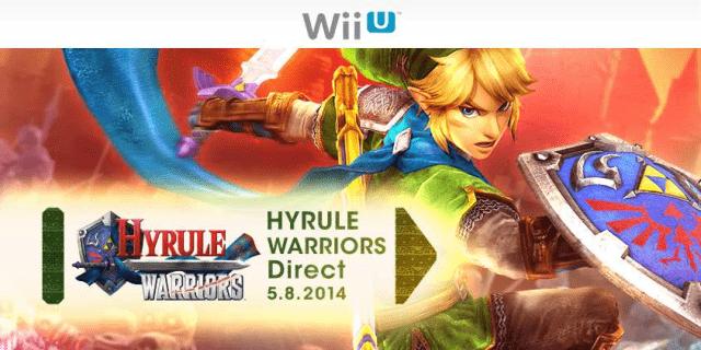 Nintendo Direct : Vidéo de la présentation de Zelda Hyrule Warriors