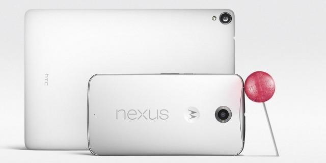 Google annonce le Nexus 6 et le Nexus 9 !