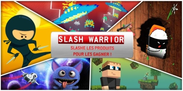 RueDuCommerce fête ses 15 ans et lance le concours : Slash Warrior