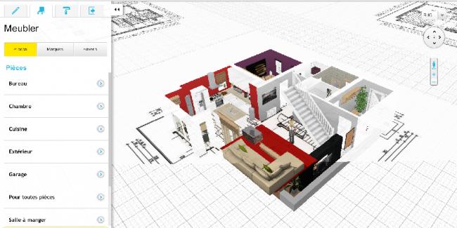 HomeByMe : Modéliser votre intérieur