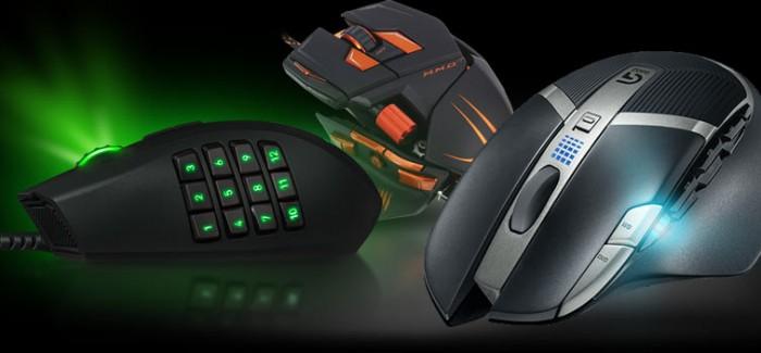 Les 5 meilleures souris gamers !