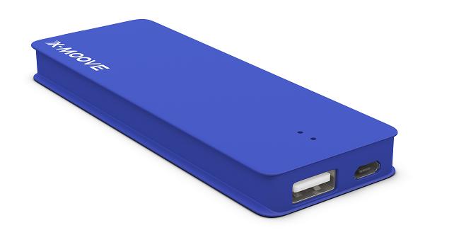 Test : Batterie externe X-Moove Powergo Nano
