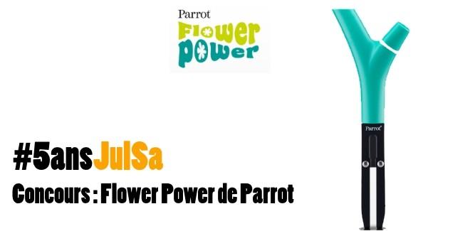 Concours : Gagnez le Flower Power de Parrot