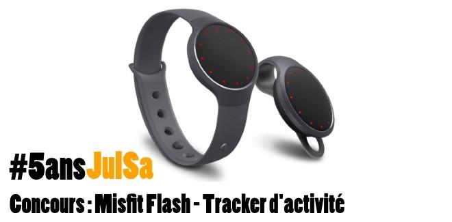 Concours : Gagnez le Misfit Flash