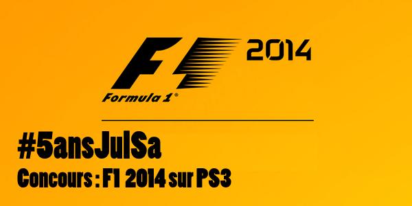 Concours : Gagnez F1 2014 sur PS3