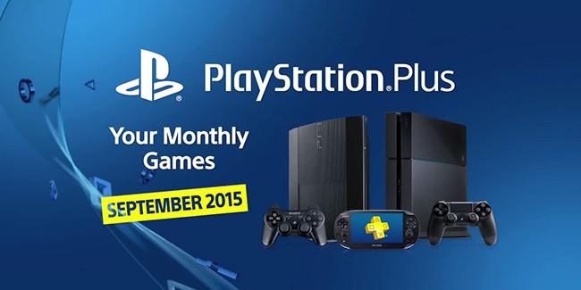 Les jeux PlayStation Plus du mois de septembre 2015