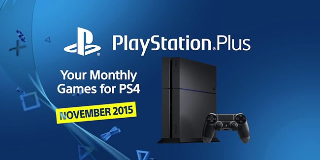 Les jeux PlayStation Plus du mois de novembre 2015
