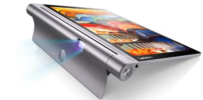 Lenovo sort sa nouvelle tablette avec projecteur intégré (Yoga Tab 3 PRO)