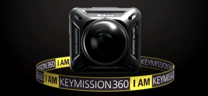 KeyMission 360 : Nikon se lance dans la vidéo 4K sphérique