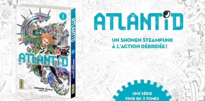[Manga] Avis / Critique : Atlantid (Tome 1)