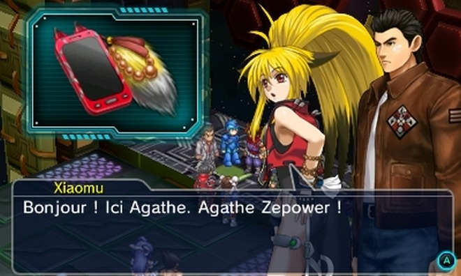 Project X Zone 2 - D