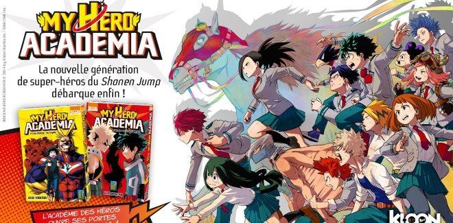 [Manga] Avis / Critique : My Hero Academia (Tome 1 et 2)