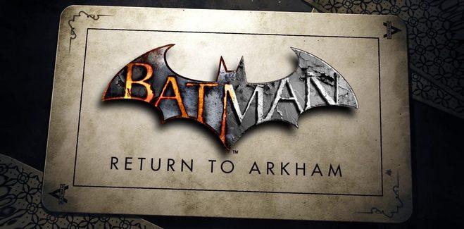 Vidéo et date de sortie pour Batman Return to Arkham