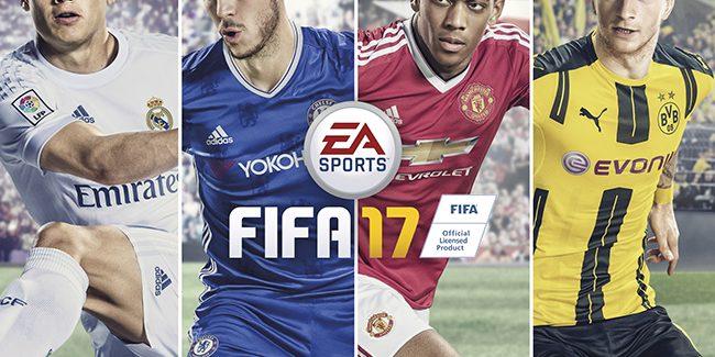 FIFA 17 daté et annoncé avec la technologie Frostbite !