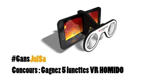 Concours : Gagnez 5 lunettes VR HOMIDO !