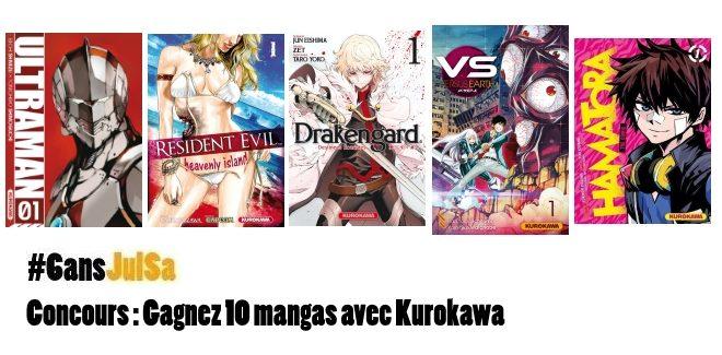 Concours : Gagnez 10 mangas avec Kurokawa