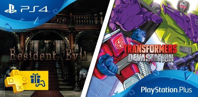 Les jeux PlayStation Plus du mois d'octobre 2016