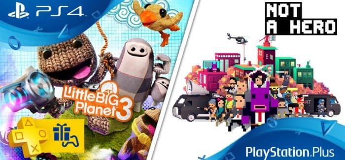 Les jeux PlayStation Plus du mois de février 2017