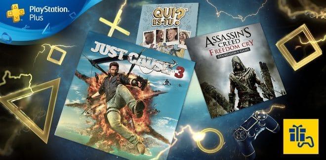 Les Jeux Playstation Plus du Mois d'Août