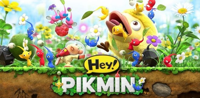 [Test] Hey! Pikmin, un véritable Pikmin en 2D ? – 3DS