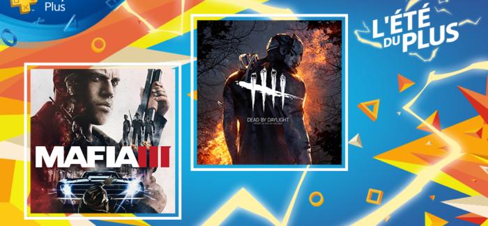Les jeux Playstation Plus du mois d'Août 2018