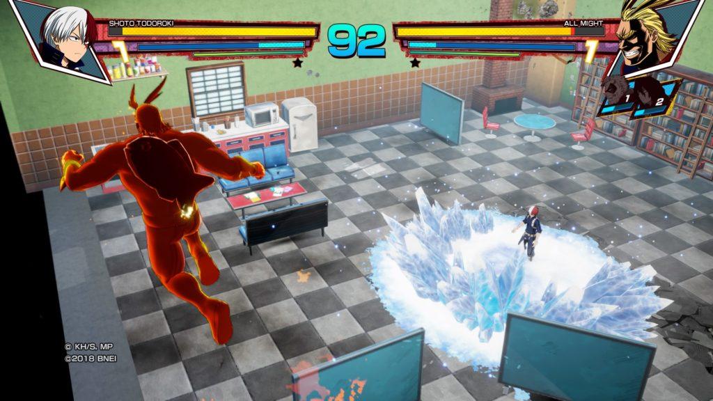 Combat My Hero One justice PS4